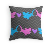 Pointy Love Throw Pillow