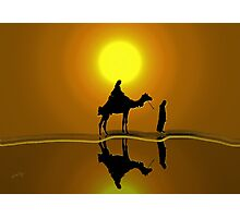The road to Bethlehem'... Photographic Print