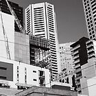 Melbourne, patch-work city by StolenName