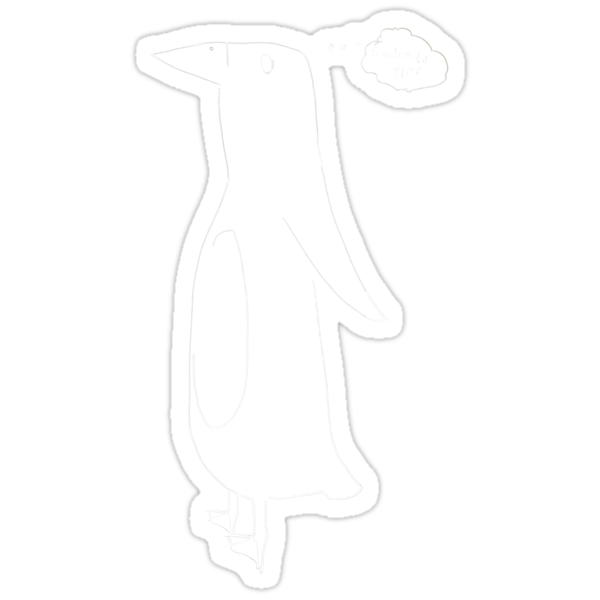 Penguin White by Graeme Ellis