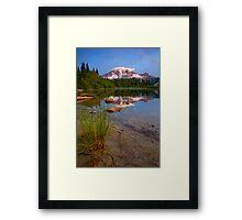 Majestic Glow Framed Print