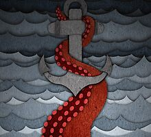 Kraken - with anchor by keepersandmates