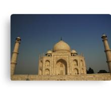 The Mighty Taj Canvas Print