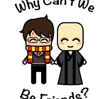 Harry & Voldemort by JRoxDesign