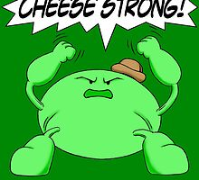 Sage Der-Bee Cheese Strong! by kerchow
