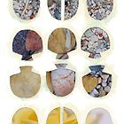Multifaceted No.4, Stones and Roses (Light, Time & Facade Series) by Kerryn Madsen-Pietsch