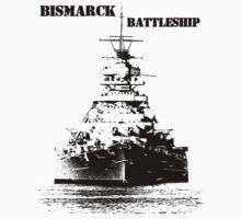Bismarck Battleship Kids Clothes