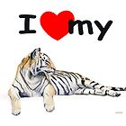 I love my Tiger (light) by J-C Saint-Pô