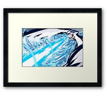 Lugia   Aeroblast Framed Print