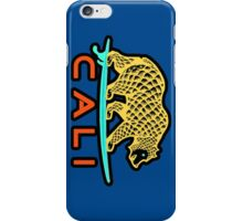 Cali Bear (Yellow with Black Border) iPhone Case/Skin