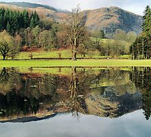 Coniston reflections by clickinhistory