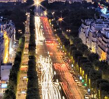 Champs Elysees by Paul Thompson Photography