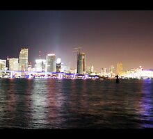 Miami Sky Line by Shinrai