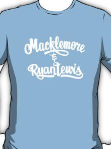 macklemore and ryan lewis tags T-Shirt