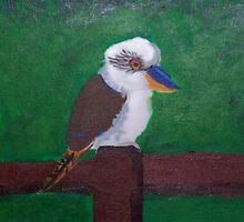 Kookaburras by Mishie