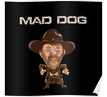 Buford Mad Dog Tannen 1885 Back To The Future Poster