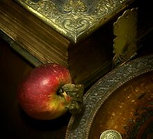The Bible and Collection Plate by Gazart