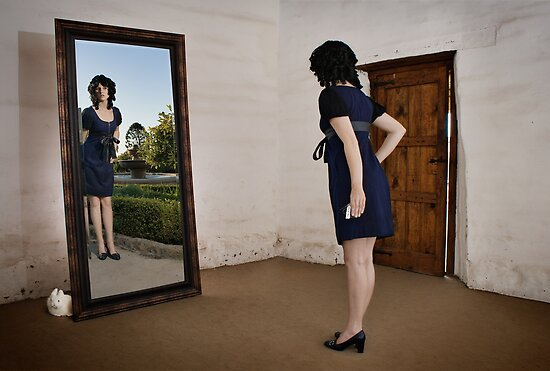 Through the looking-glass by Chad Matthew Carlson