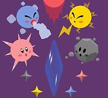 Kirby Shard Powers by minilla