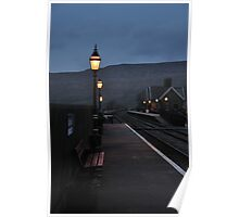 Ribblehead Train Station At Dusk Poster