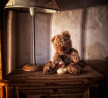 Bear study by Simon Duckworth