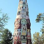 Worlds Largest Concrete Totem Pole by Cindy RN