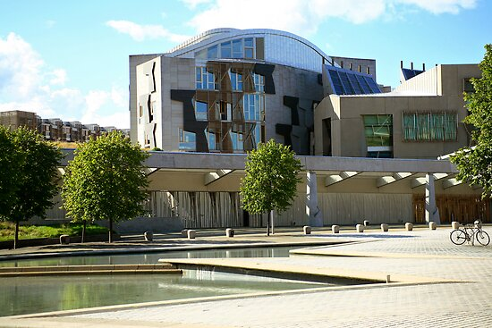 Scottish Parliament  by Linda More