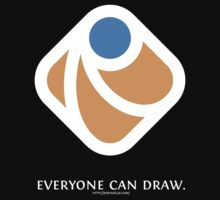 Everyone can draw (black) by Dmitry Baranovskiy