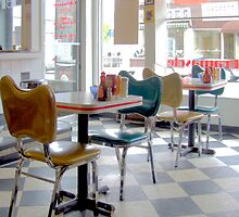 Fifties Diner Deco by Max Buchheit