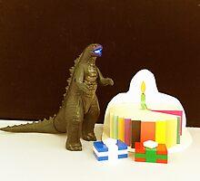 Godzilla Birthday by FendekNaughton