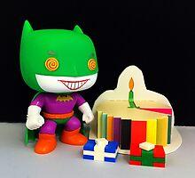 Joker/Batman Birthday by FendekNaughton
