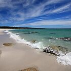 Bay Of Fires,Swimcart Beach, Tasmania by David Jamrozik