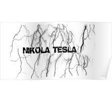 Tesla lightning Poster
