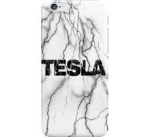 Tesla lightning iPhone Case/Skin