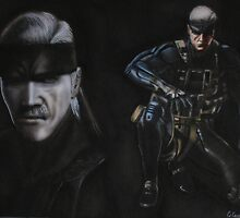 solid snake by carss66