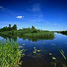 where two rivers meet by Qba from Poland