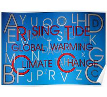 Climate Change - Hidden Message Poster
