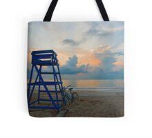 Blues On North Beach Tote Bag