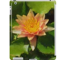 Warm Yellows, Oranges and Corals - a Waterlily Impression iPad Case/Skin