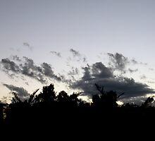 Athenian Sunset by Bentrouvakis