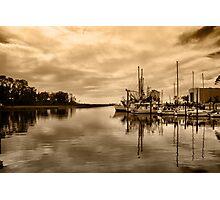 Ocean Springs Harbor Photographic Print