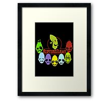 Oddword Abe's Oddysee 'This Is Rupture Farms' Framed Print