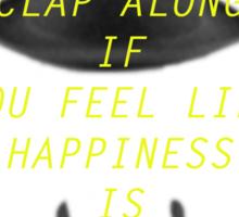 Happy pharrell Sticker