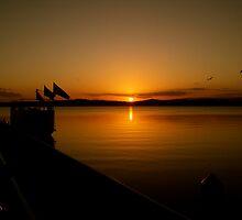 SUNSET WARNERS BAY by RedMonkey Photography