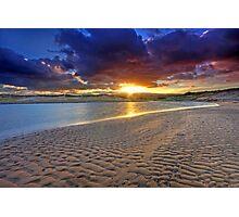 Inverness Sunrise Nova Scotia Photographic Print