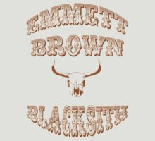 Emmett Brown blacksmith by rolito86