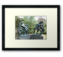 Orpheus & Eurodice Framed Print