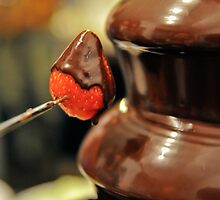 Chocolate Strawberry Fondue by Jackco  Ching