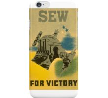 Sew for Victory iPhone Case/Skin