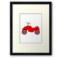 Play car Framed Print
